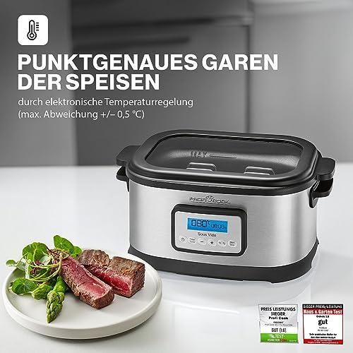 Profi Cook SV-1112 Sous Vide–Schongarer Topf und Vakuum für Küche - 2