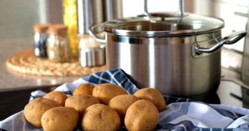 Kartoffeln sous vide garen